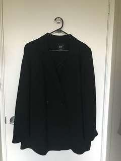 Black blazer/coat
