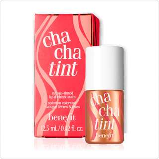 🆕 Benefit Chachatint Mango-Tinted Cheek & Lip Stain