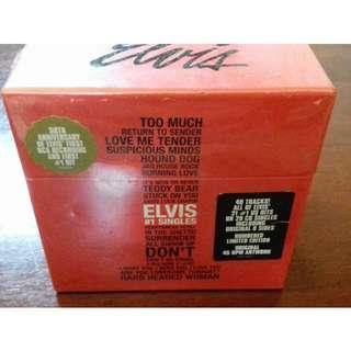 Elvis Presley USA #1 Single Box set sealed 20 CD including original B sides