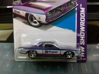 2013 Hotwheels '68 Plymouth Barracuda Formula S