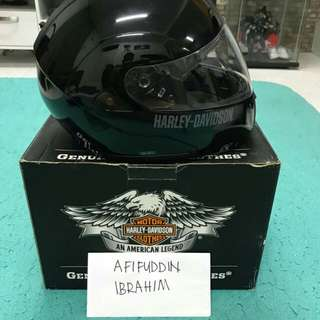 harley davidson helmet full face🔥  size-M condition-brand new in box(refer pic) rm599    cod-bukit mertajam penang nk pos pon bulehh aihhh www.wasap.my/60175418476