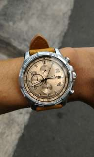 Fossil FS5163 using leather strap