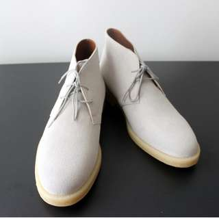Common Projects Chukka Light Grey Suede