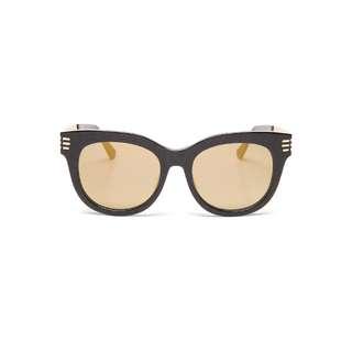 HACHill - 黃色圓框太陽眼鏡