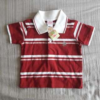 Little Gifts Collar T-Shirt