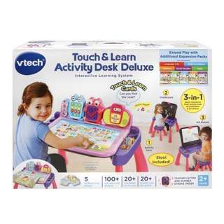 VTech Touch and Learn Activity Desk Table
