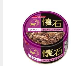 日清懷石貓罐