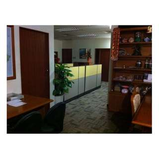 Fully fitted and furniture well done office / storage commercial unit for Rent