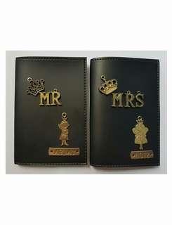 Passport holder & new charms