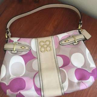 Coach Mini Handbag in Pink