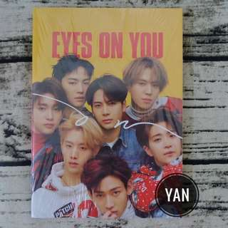 [Ready Stock] GOT7 - Eyes On You : On ver (with poster & lookbook)