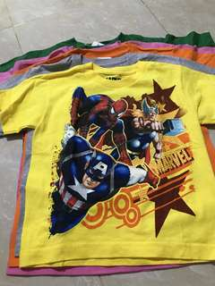 Marvel & Disney Kids Tee - assorted size