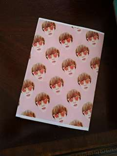 BTS JIN notebook