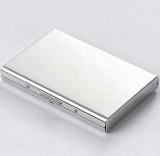 Metal case card holder (plz read description)