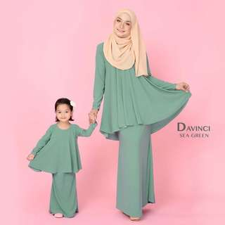 Davinci kurung kids (matching with mommy)