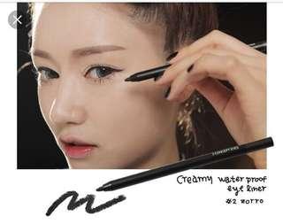 Creamy waterproof eyeliner