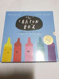 THE CRAYON BOX: THE DAY THE CRAYONS QUIT SLIPCASE ED