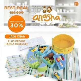 Tempat Bekal / Lunch Box - Anasha Faeyza Puzzle Lunch
