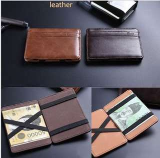 Magic Leather wallets