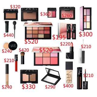 (Pre-order預訂22/4截) NARS 各類 化妝品 產品
