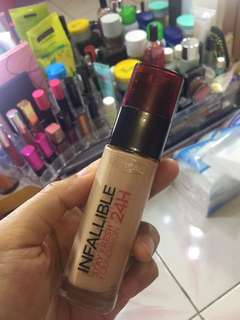 Loreal infallible stay fresh foundie 24h