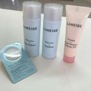 Laneige White Dew Refiner Emulsion Sleeping Pack