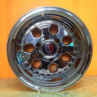 SPORT RIM 4X4 16inch FULL CHROME