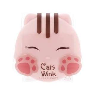 🆕 TonyMoly Cat's Wink Clear Pact (11g) - Clear Skin