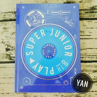 [Ready Stock] Super Junior - Play : One More Chance ver.