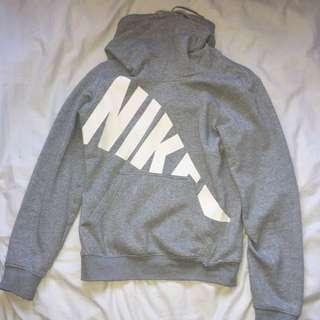 NIKE turtleneck grey jumper