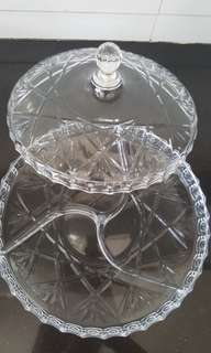 Crystal Clear Serving Tray