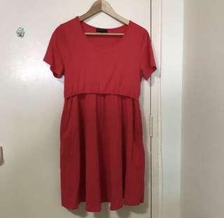 Jump Eat Cry Nursing Dress