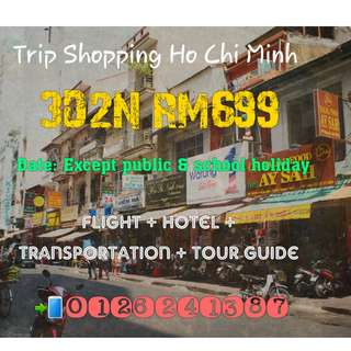 TRIP SHOPPING VIETNAM 2018 3D2N