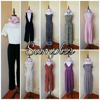 Prepack jumpsuit mix rompers