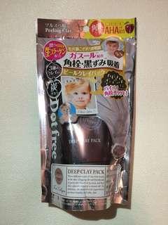 日本Dot Free 炭 深層清潔面膜 保濕精華成份 Deep Clay Pack