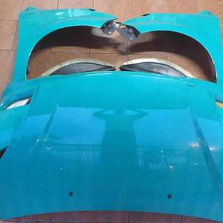Myvi body part complete