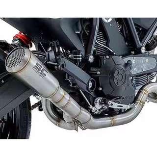 Sc Project Conic '70S Exhaust Muffler