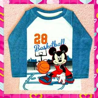 Hi Babe Mickey Basketball