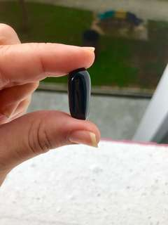 Black glass leklAi capsule
