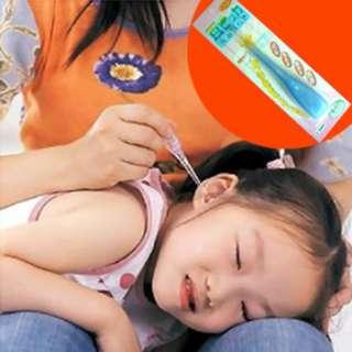 Ear pick earpick flashlight pembersih telinga LED senter nyala AHM024