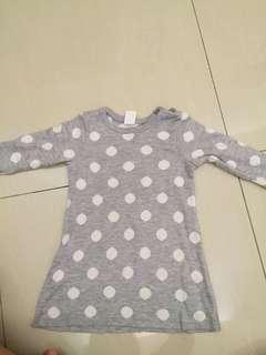 H&M sweater dress baby girl