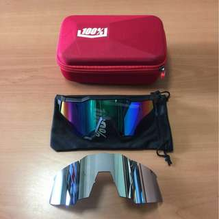 *Highly Recommended* 100% Speedcraft Polarized Sports Sunglasses
