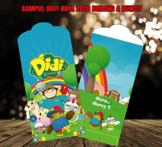Sampul Duit Raya @ Money Packets