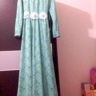 Dress brokat tosca