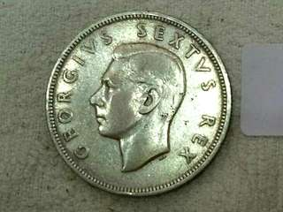 Suid Africa KGVi 1952 2 1/2shilling. Silver