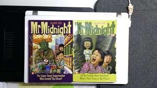 4 X Mr Midnight Books