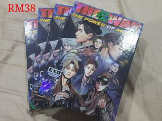 EXO 4th Repackage Album - The War: The Power of Music (kor ver no pc no poster)