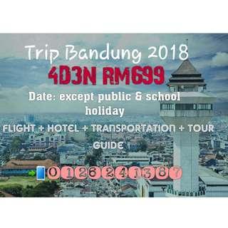 TRIP BANDUNG 2018 4D3N