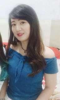 Blue top