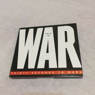 Thirty Seconds To Mars THIS IS WAR CD